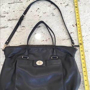 Oversized Kate Spade leather bag